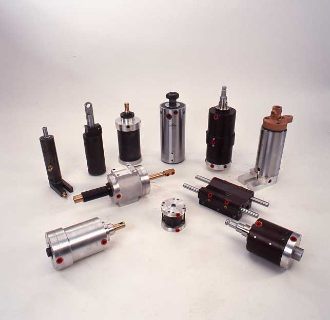 Group of cylinders
