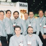 The Milco team at the 2003 AWS Show Detroit.