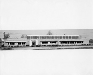 The Milco building after the expansion.